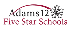 Adams 12 Five Star Schools logo. A Motown Group Campus Solutions client.