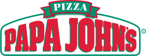 Papa John's Pizza logo. A Motown Group PeopleSoft client.